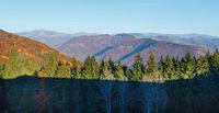 Autumn in mountain.
