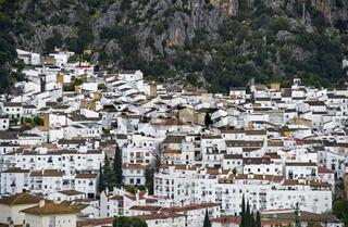 Weisses Dorf  bei Ronda,Andalusien, Spanien