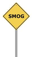 Warning Sign SMOG