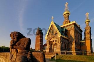 Russische Kapelle am Abend