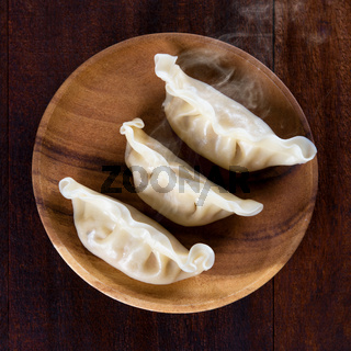 Asian dish dumplings