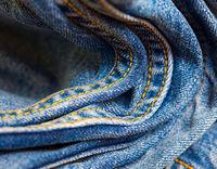 blue jeans double seams
