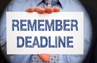 Remember Deadline