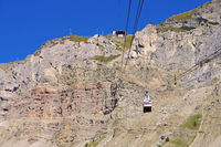 Seceda Seilbahn - Seceda ropeway to the mountain
