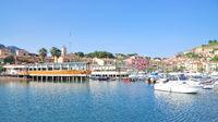 Porto Azzurro on Elba Island,mediterranean Sea,Tuscany,Italy