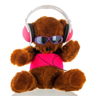 Funny stuffed bear