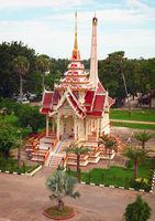 Traditional Thai crematorium