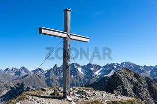 Gipfelkreuz Hammerspitze