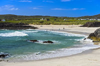 Beach at the Clachtoll Bay, Clatchtoll, Assynt, Scotland, United Kingdom