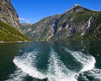 Fjordlandschaft im UNESCO-Weltnaturerbe Geiringerfjord bei Geiranger