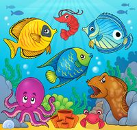 Coral fauna theme image 6 - picture illustration.
