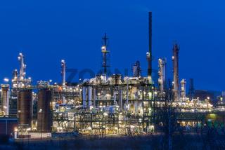 Chem. Produktionsanlagen im Bunawerk