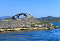 Storseisundet Bridge, Atlantic Road,Norway