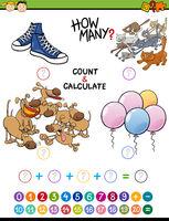 math educational activity for children