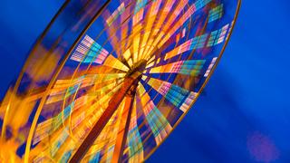 night ferris wheel