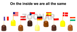 Schaumküsse - On the inside we are all the same