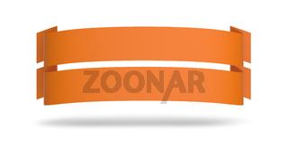 Doppel Werbeplakat Orange