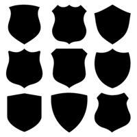 Black custom shields