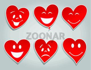 Smile hearts