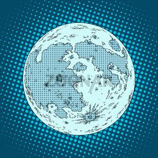 moon satellite planet