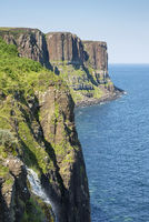 Basalt cliffs called Kilt Rock
