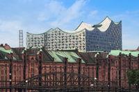 Hamburg - Elbphilharmonie and Speicherstadt