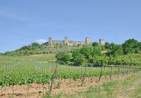 Monteriggioni near Siena,Tuscany,Italy