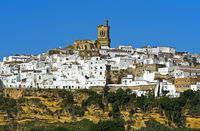 White Town Arcos de la Frontera, Andalusian,Spain