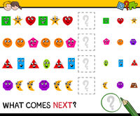 pattern activity with shapes