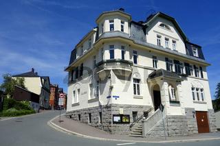 Gemeindeamt in Erlbach/Vogtland, ostdeutschland