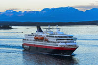 Cruise liner MS Nordkapp of Hurtigruten, Norway