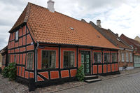 House in Ärösköbing, on the Danish island of Aero