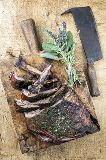 Barbecue Venison Ribs