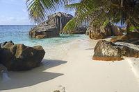 Traumstrand Anse Patatas , Insel La Digue, Seychellen