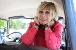Sängerin Mary Roos bei Dreharbeiten zur MDR-Sendung 'Schlager einer Stadt' in Köthen 13.5.15