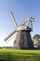 Windmill on Amrum in Germany
