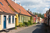 A street in the Danish town of Ärösköbing