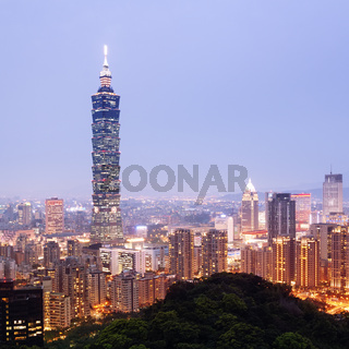 Taipei Skyline - Taiwan
