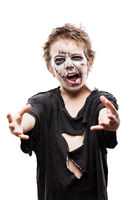 Walking dead zombie child halloween horror costume
