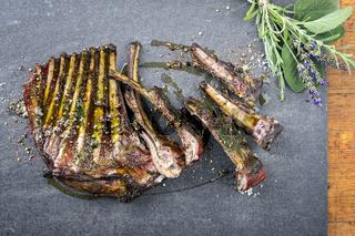 Barbecue Vanison Ribs
