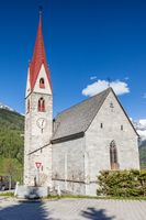 Village church in South Tyrol