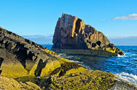 Split Rock, Clachtoll, Assynt, Scotland, Great Britain