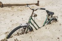 Fahrrad im Sand | bicycle in the Sand