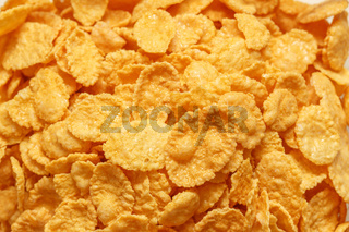 Close up of cornflakes