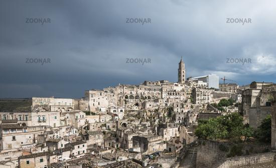 Ancient town of Matera (Sassi di Matera), Basilicata, Italy