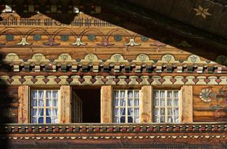 Simmentaler Bauernhaus, Därstetten, Simmental, Kanton Bern, Schweiz