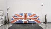 Great Britain flag sofa
