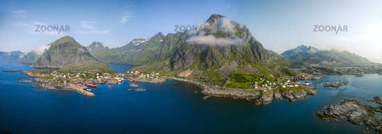 Picturesque Lofoten in Norway