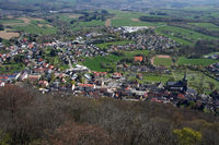 View from Schaumberg / Tholey, Saarland / Germany