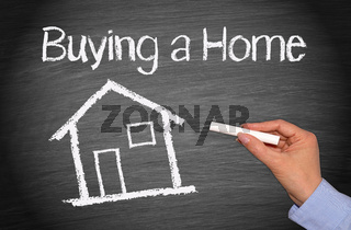 Buying a Home - Real Estate Concept